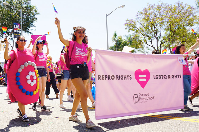 Pride Parade-planned-parenthood-rights