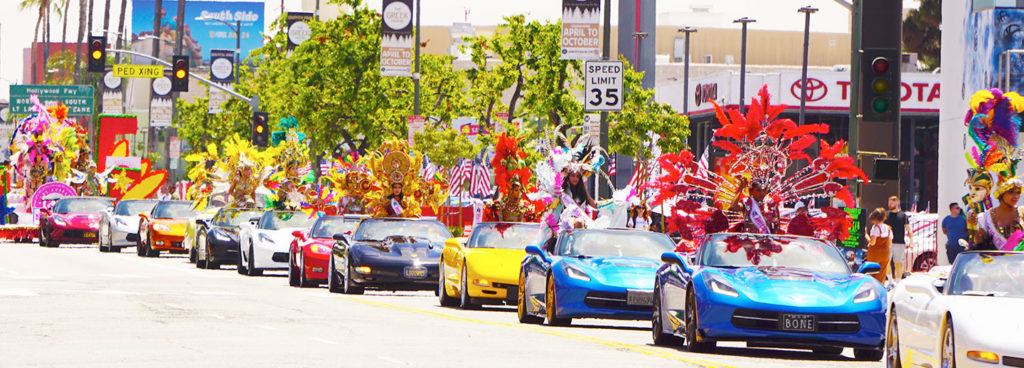 Hollywood Carnival Parade, Corvette of choice