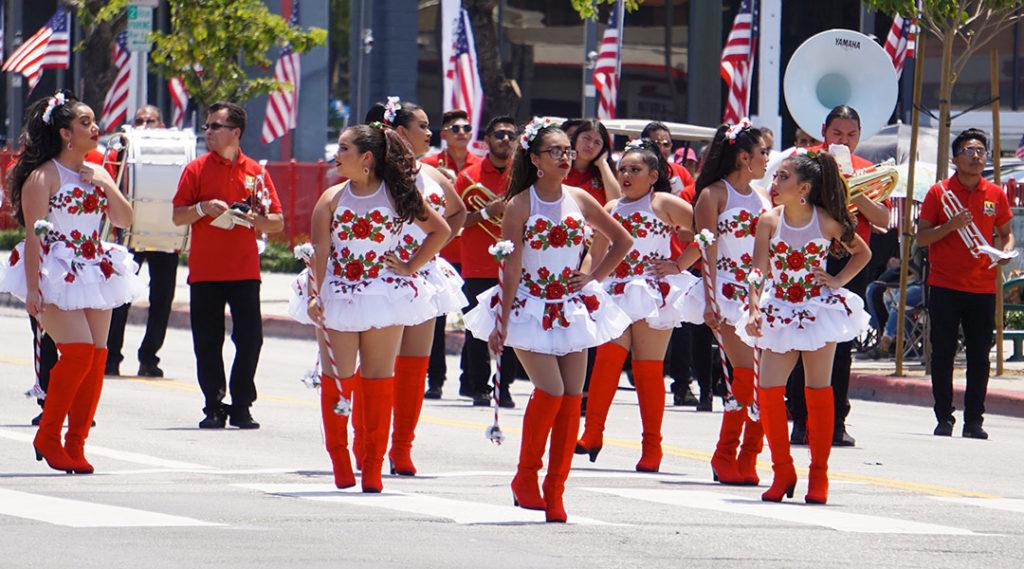 Los Angeles Latin Band, Hollywood Carnival Parade, 06/29/19