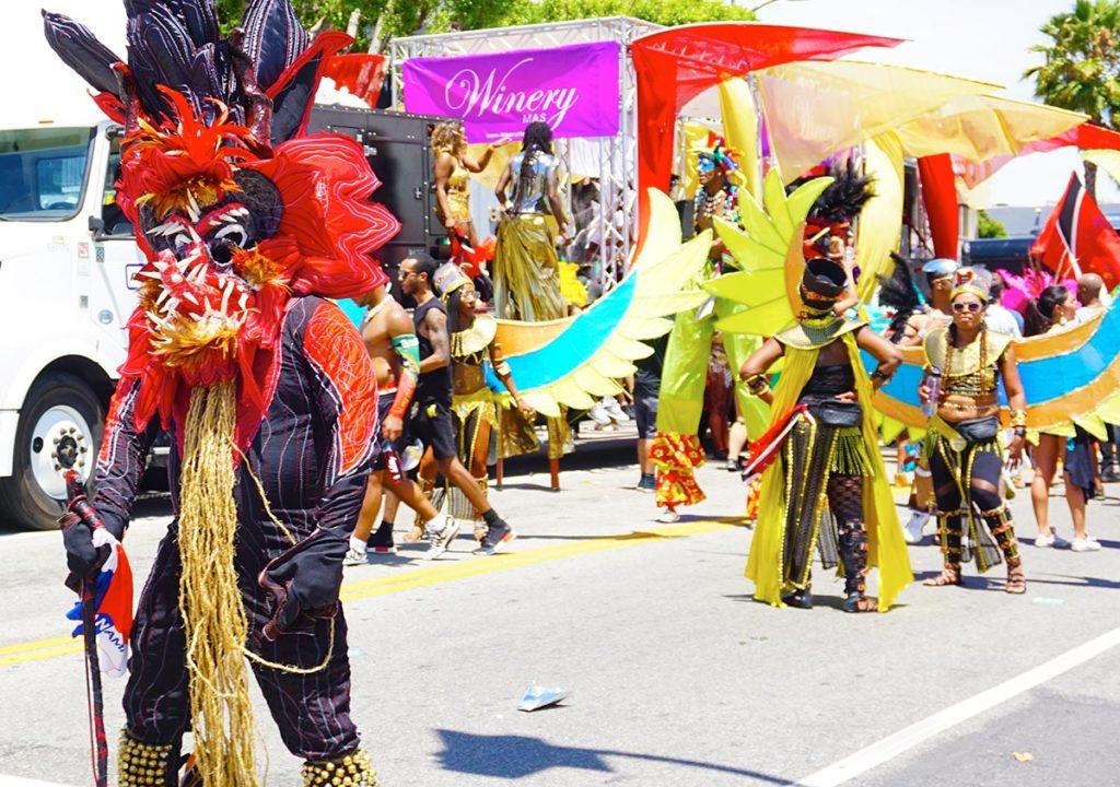 Winery Mas, Hollywood Carnival Parade, 06/29/19