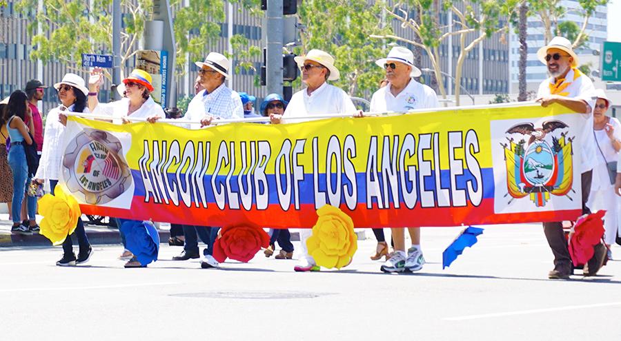 Ecuador Parade-Ancon Club of Los Angeles-08/04/19