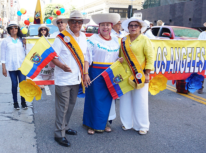 Ecuador parade-Los Angeles-08/04/19-ancon-club