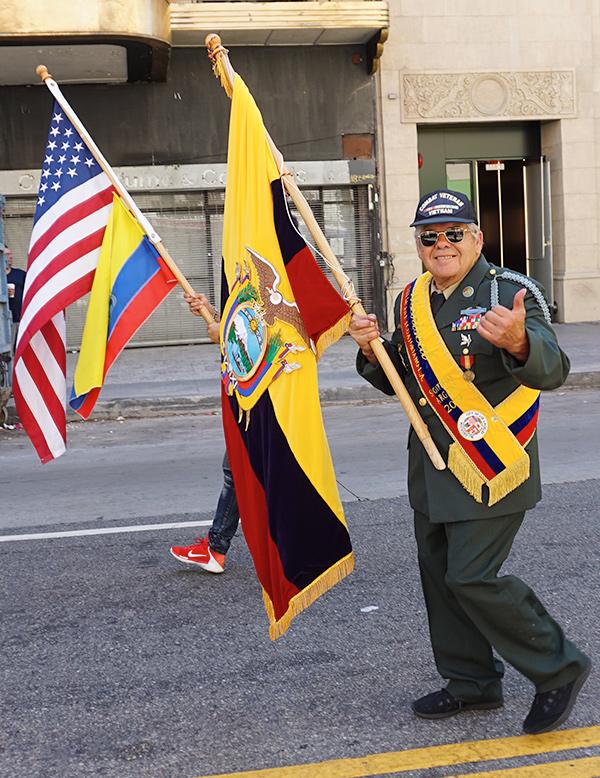 Ecuador Parade, Los Angeles, 08/04/19