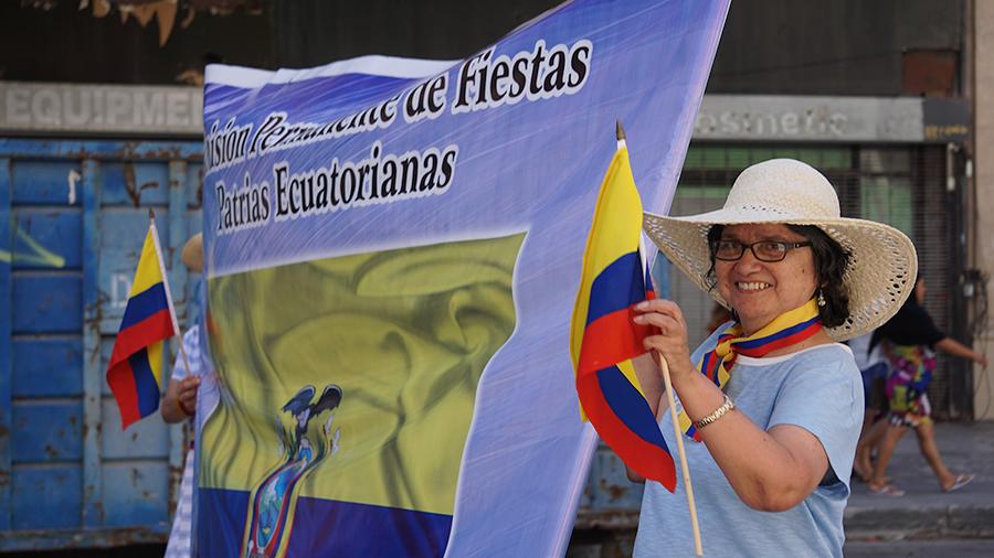 Ecuador Parade, Los Angeles, CPFPE, Comision Permanente de Fiestas Patrias Ecuatorianas, 08/04/19