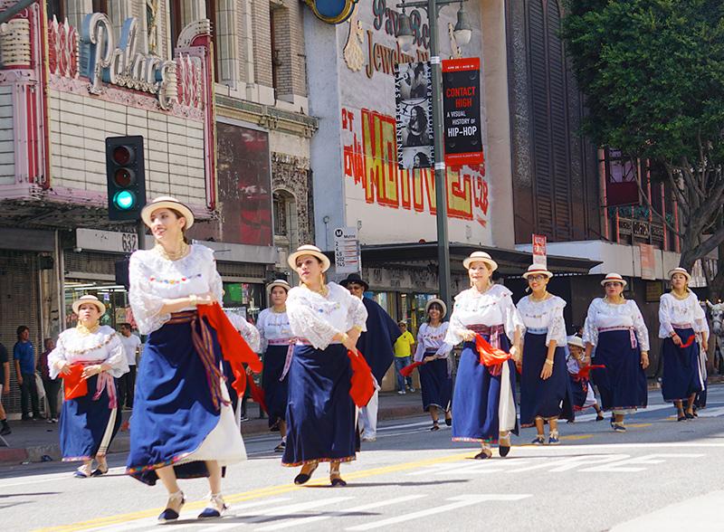 Ecuador Parade, Los Angeles, 08/14/19 Grupo Cultural Latinoamericano