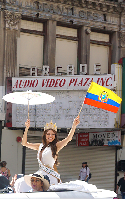 Ecuador Parade, Los Angeles, Miss World Ecuador Comunidad U.S.A. 08/04/19