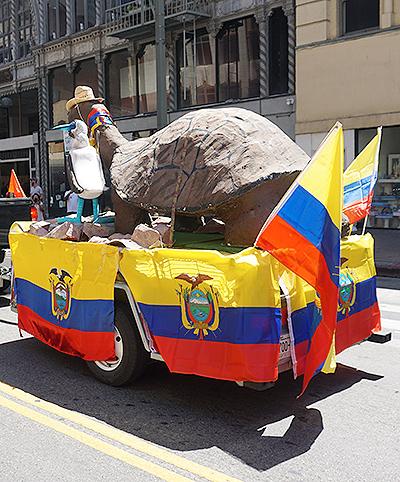 Ecuador Parade-Los Angeles-08/04/19-george-float1