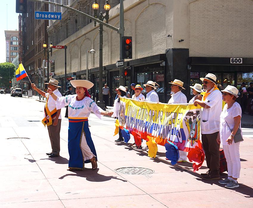 Ecuador Parade, Los Angeles, 08/04/19, Ancon Club