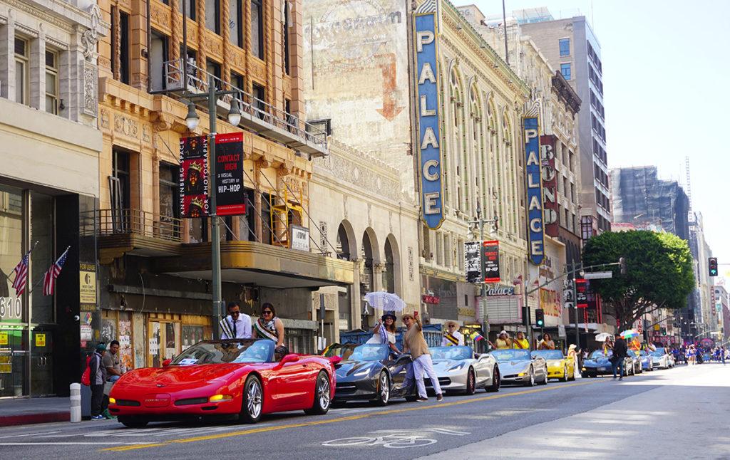 Ecuador Parade, Los Angeles, 08/04/19, Corvette of Choice