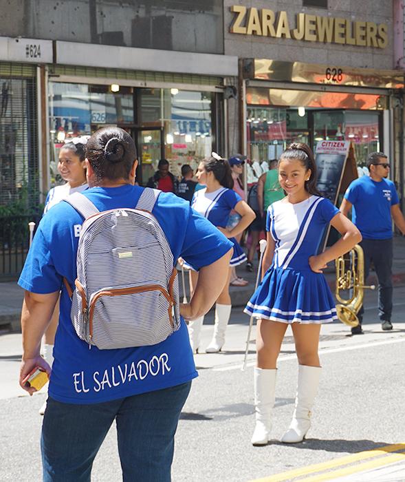 Ecuador Parade, Los Angeles, 08/04/19 Banda Azul y Blanco Los Angeles