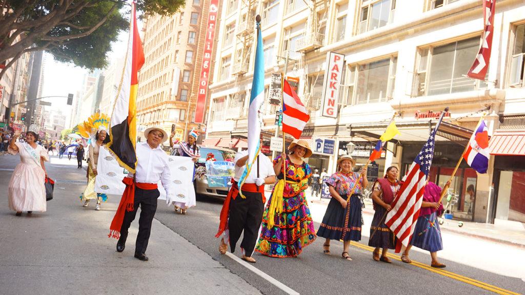 Ecuador Parade, Los Angeles, 08/04/19 Guatemala groups