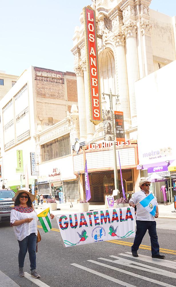 Ecuador Parade, Los Angeles, 08/04/19 Guatemala