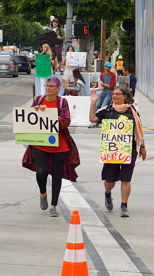 Global Climate Strike March at Consulate-General of Brazil in Beverly Hills, CA (09-27-19)-39