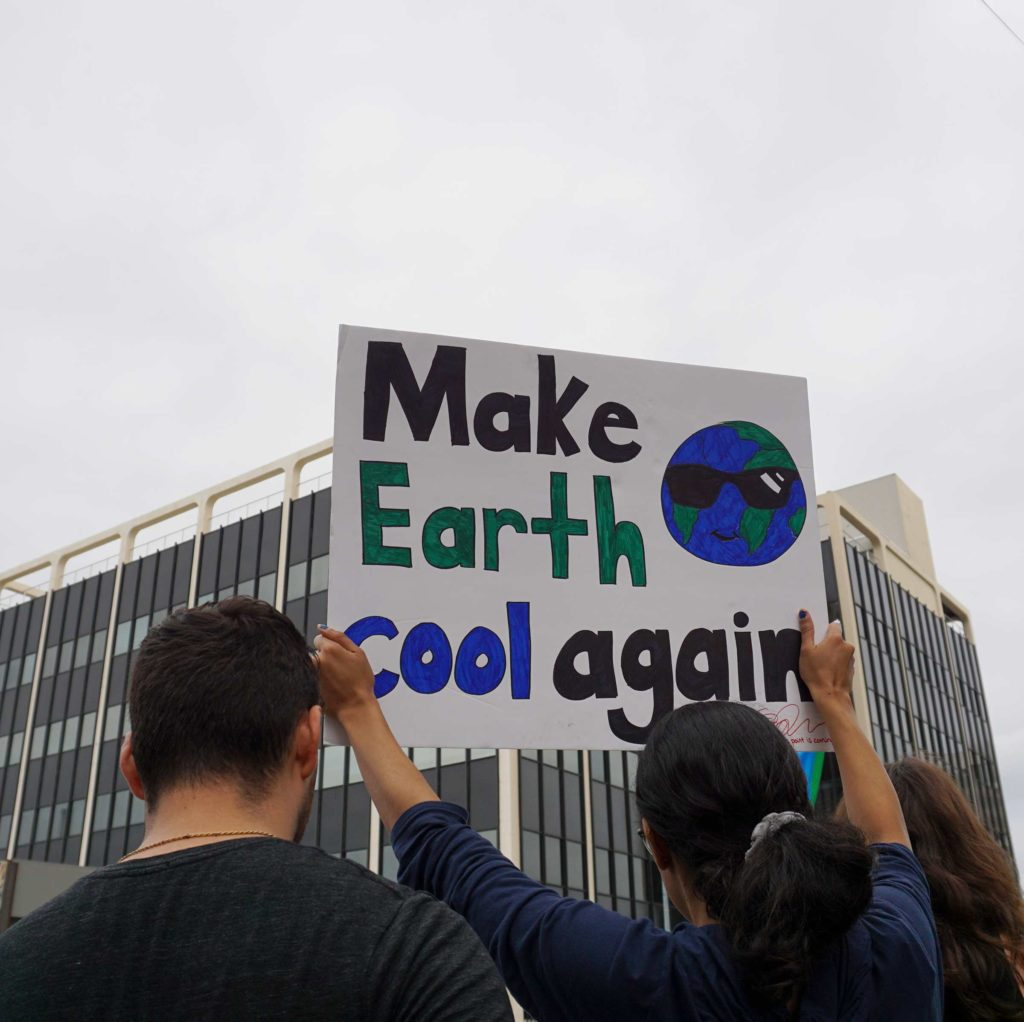 Global Climate Strike March at Consulate-General of Brazil in Beverly Hills, CA (09-27-19)-42
