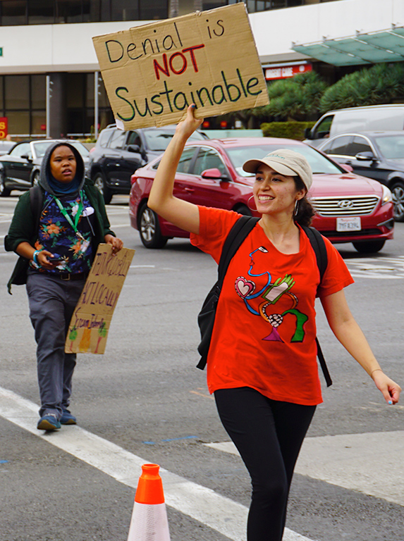 Global Climate Strike March at Consulate-General of Brazil in Beverly Hills, CA (09-27-19)-52