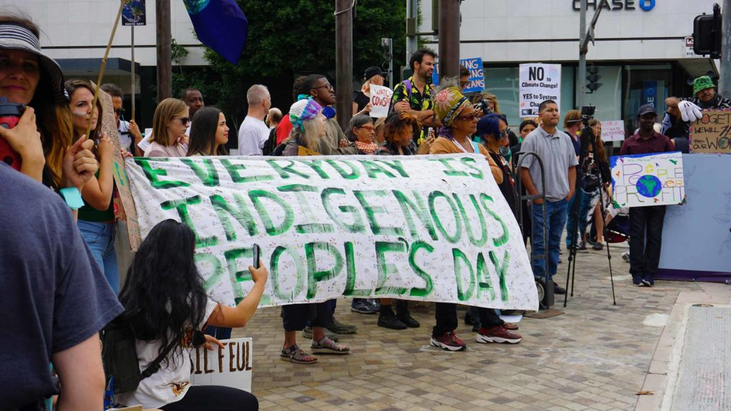 Global Climate Strike March at Consulate-General of Brazil in Beverly Hills, CA (09-27-19)-62