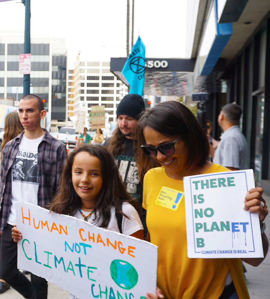 Global Climate Strike March at Consulate-General of Brazil in Beverly Hills, CA (09-27-19)-57