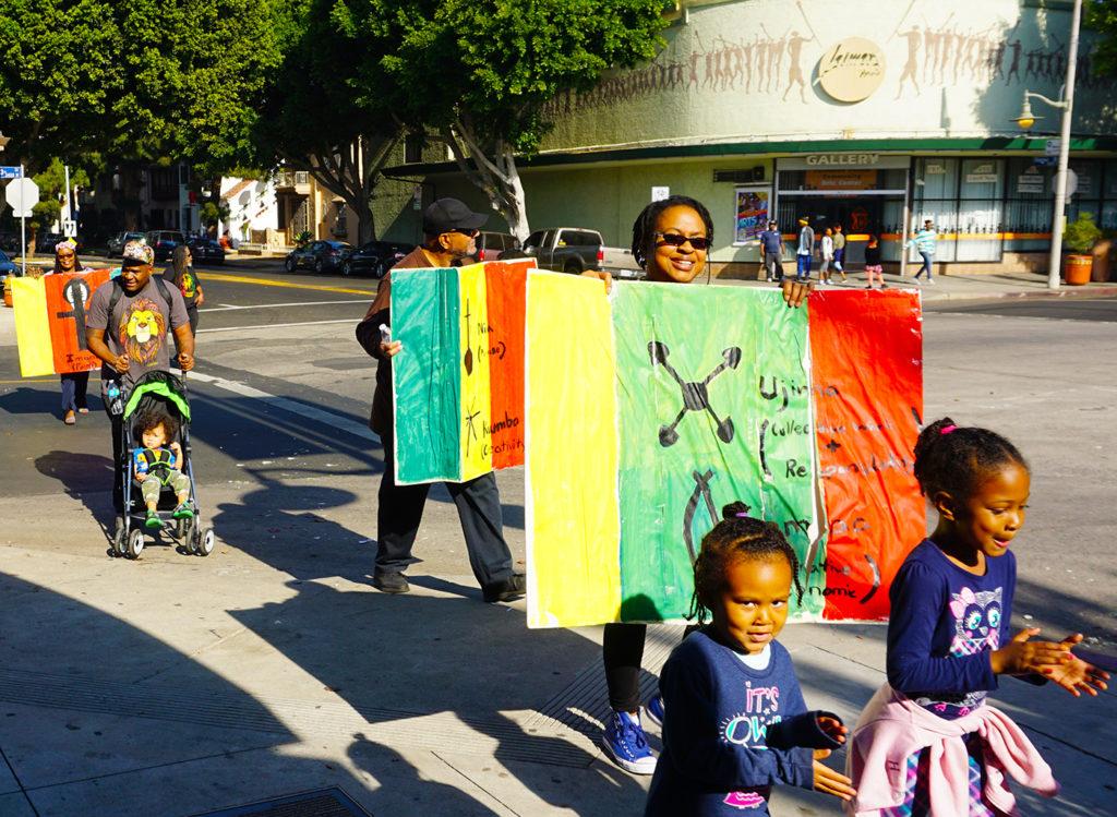 Kwanzaa Parade-Leimert Park-12-30-19