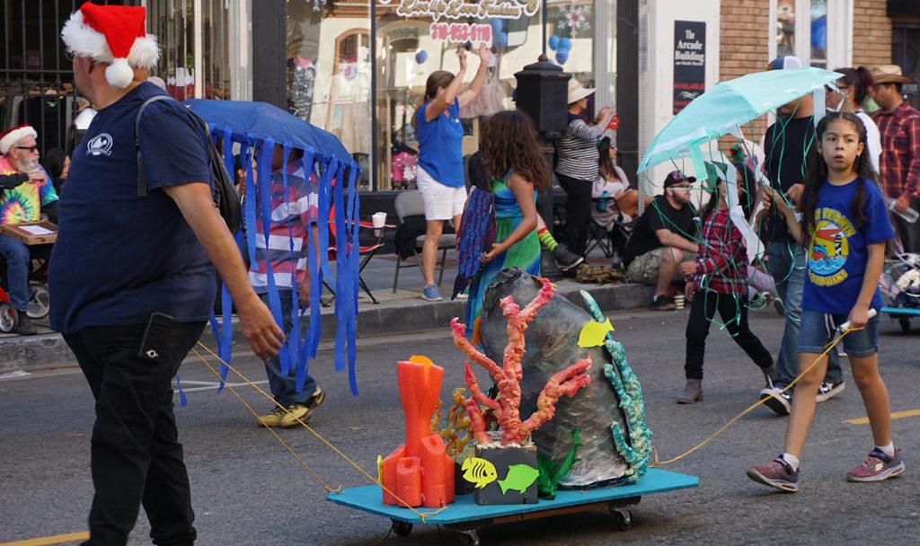 San Pedro Holiday Parade, Point Fermin, 12-3-17