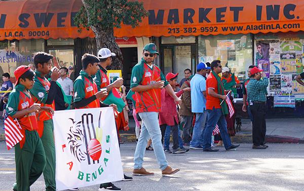 Bangla-parade-LA-Bengals-cricket-2019