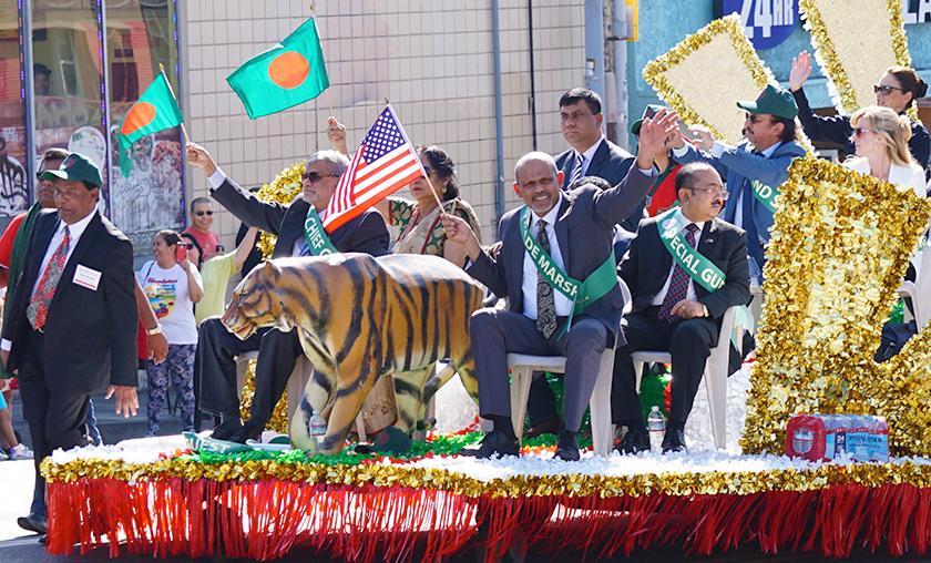 Bangla-parade-invited guests-Bengal-tiger-2019