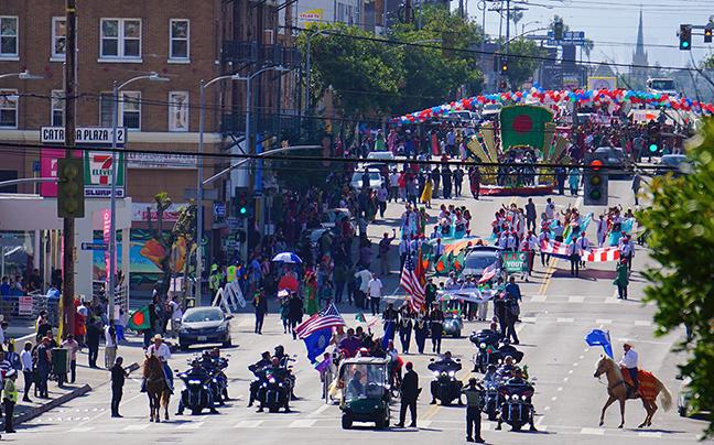 Bangladesh Day Parade Los Angeles 2019-beginning of parade