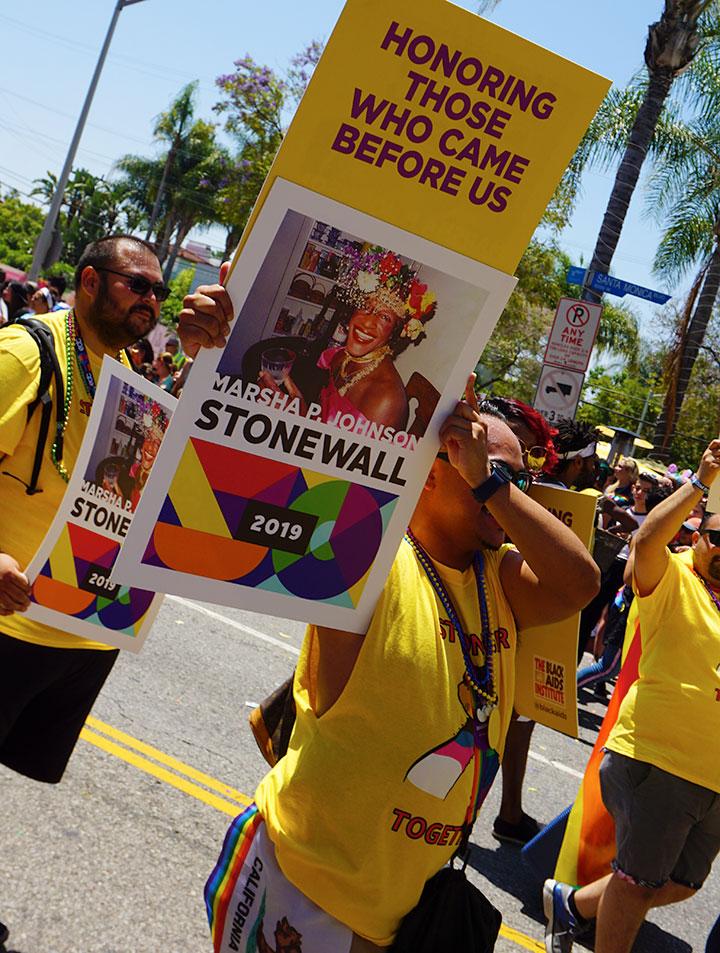 LA Pride Parade-Stonewall-remembrance