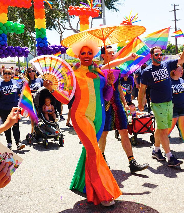 LA Pride Parade-Delta Airlines