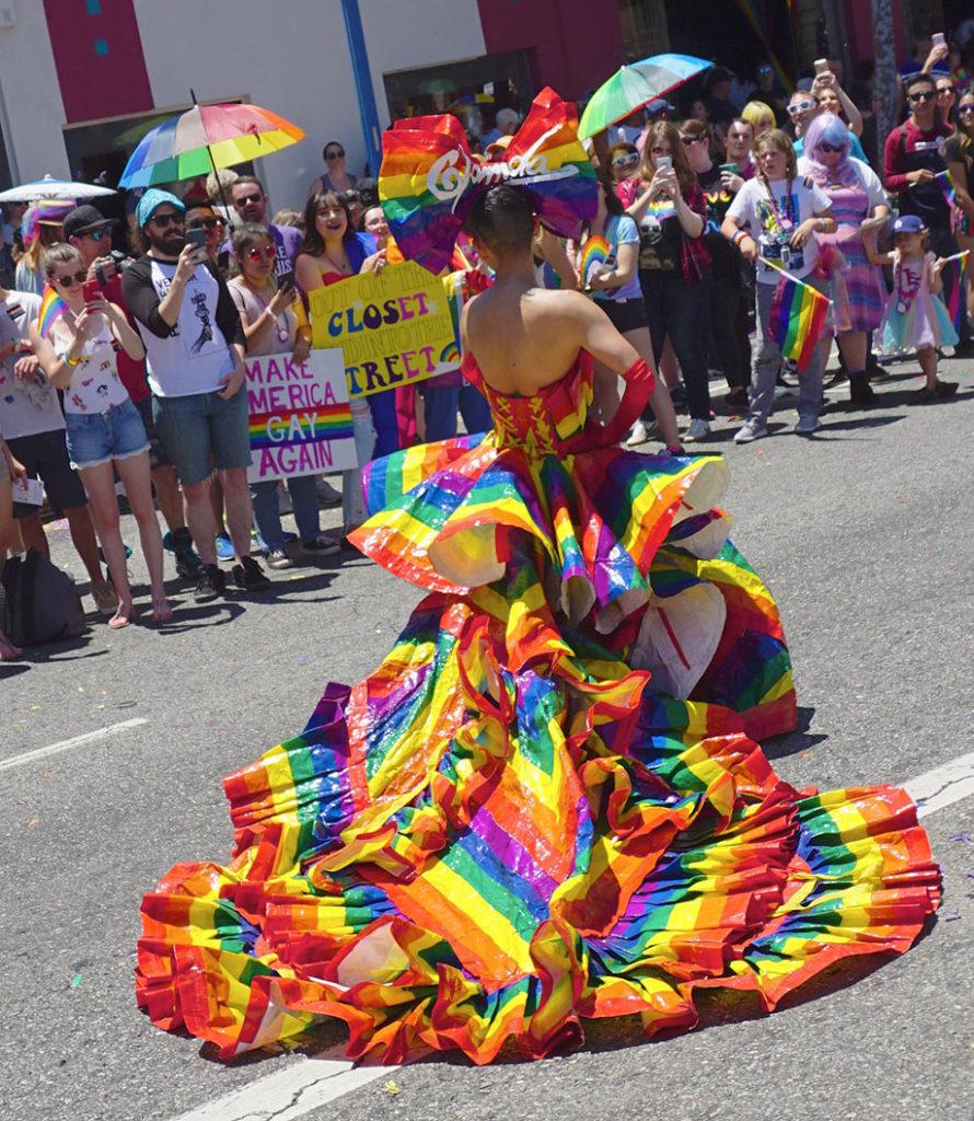 LA Pride Parade-Glamda