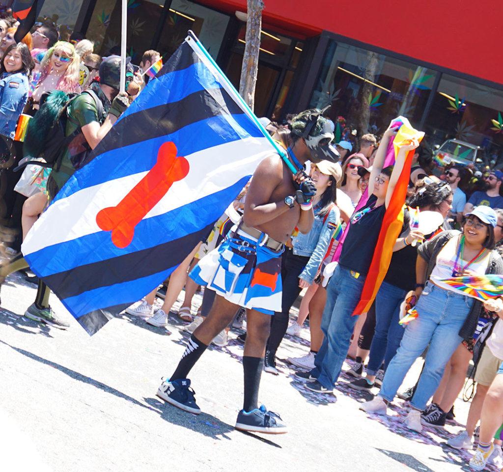 LA Pride Parade-Pup Pride Flag