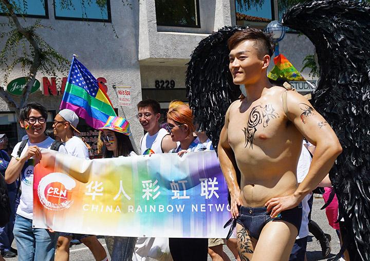 LA Pride Parade-Chinese Rainbow Network