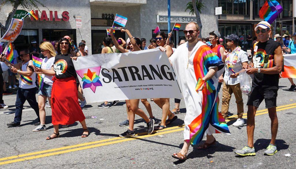 LA Pride Parade-SATRANG-banner