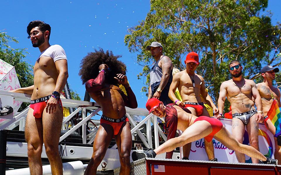 LA Pride Parade-Mickys nightclub