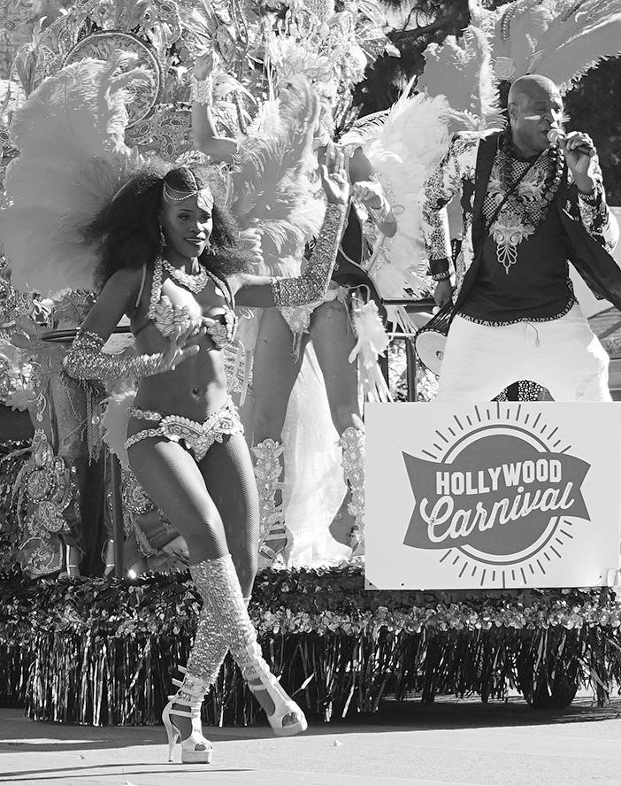 Kingdom Day Parade 2019 Carnival Hollywood float