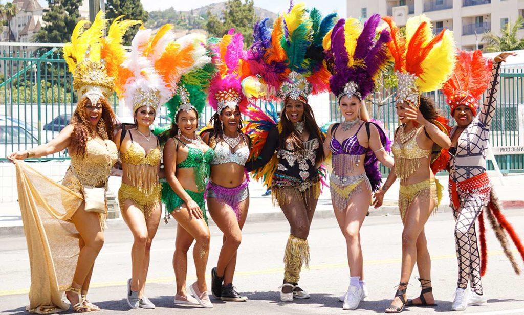 Guadalupae D'Lushus group, Hollywood Carnival Parade, 06/29/19