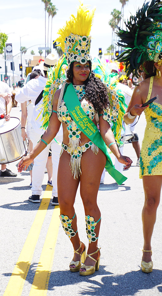 Brazil Explosion Samba Diva, Hollywood Carnival Parade, 06/29/19