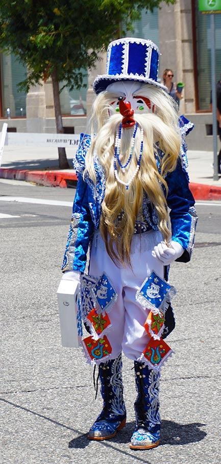 Peruvian costume; Hollywood Carnival Parade; 06/29/19