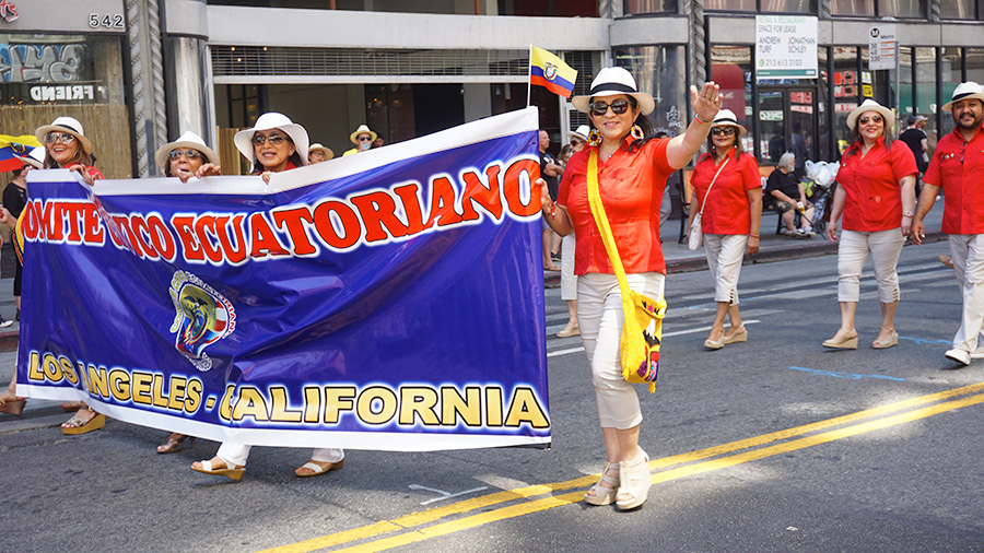 Ecuador Parade, Los Angeles, Comite Civico Equatoriano Los Angeles, 08/04/19