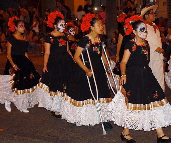 Anaheim Fall Festival-Halloween Parade-Danza de los Chinelos de Estado de Morelos (10/26/19)