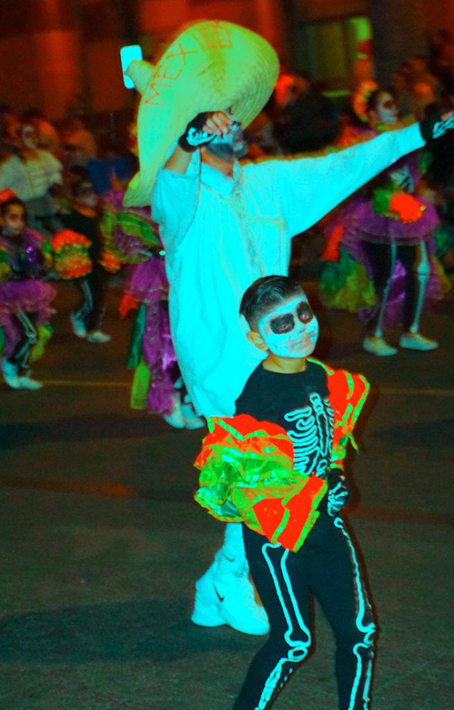 Anaheim Fall Festival-Halloween Parade-Grupo Folklorico Monte Alban Fullerton (10/26/19)