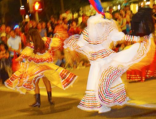 Anaheim Fall Festival-Halloween Parade Ballet Folklorico Nueva Generacion de Santa Ana (10/26/19)