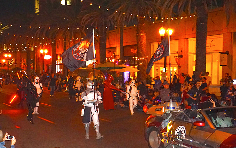 Anaheim Fall Festival-Halloween Parade-501st Legion and Orange County Star Wars Society (10-26-19)