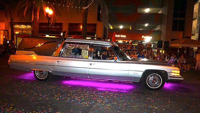 Anaheim Fall Festival-Halloween Parade-Phantom Coaches Hearse Club (10/26/19)