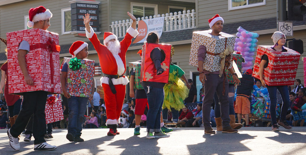 San Pedro Holiday Parade 12-3-17