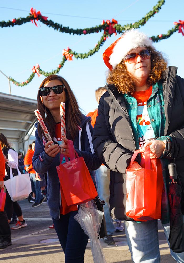 El Segundo Holiday Parade-Chevron sticks-12-8-19