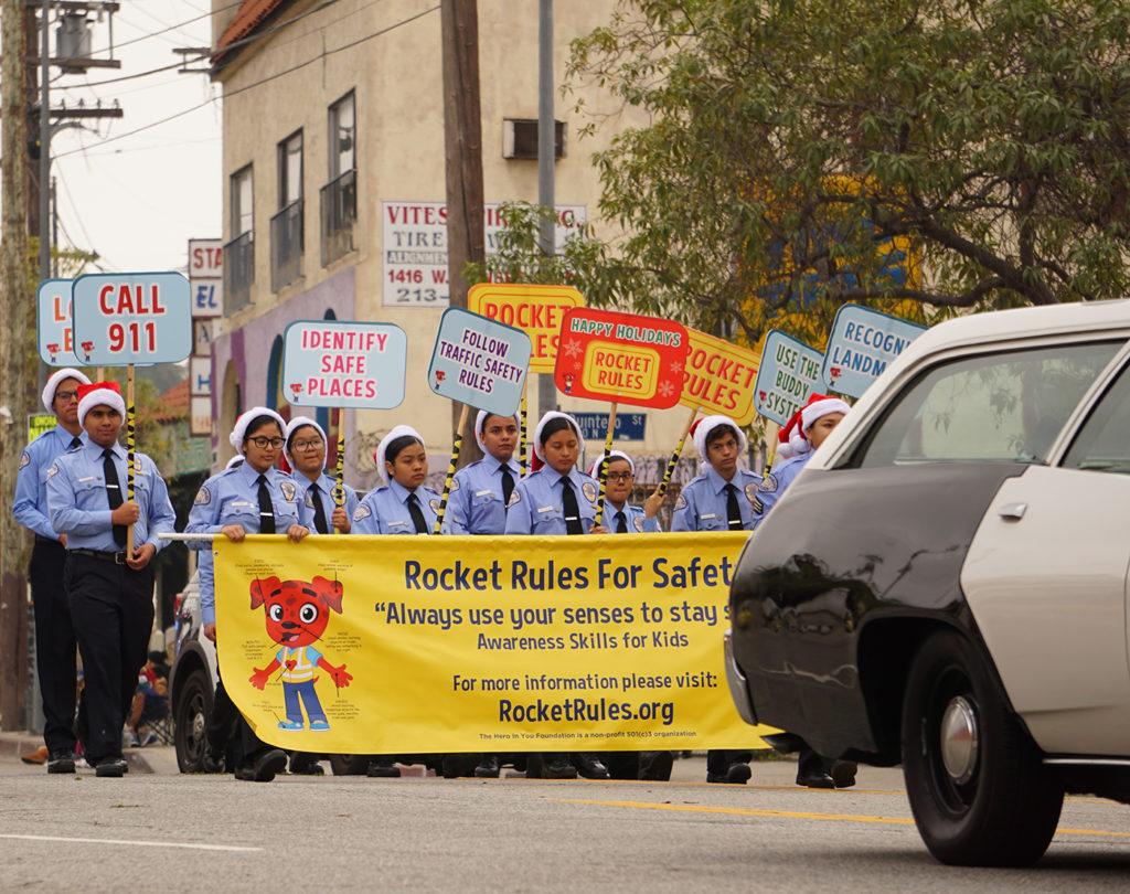 Echo Park-Community-Parade-safety-12-14-19